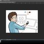 Tradigital bob ross mid-development by Kymy44