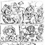 RULE-BREAKER comic random draft page 2 by michaelgutierrez1017
