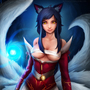 Ahri the Nine-tailed Fox by OneManRektArmy
