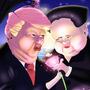 Trump X Kim by rojozeus