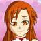 Asuna and Plushie Kirito