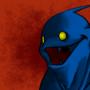 Crazy fish dude by RHIN0SAURUS