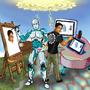 Endhiran vs Manthiran( Artificial Intelligence Vs Magical Intelligence) for TraDigital by JacksonS7R