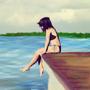 Melancholy Beach by erickafonso