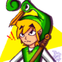 Toon Link Pixelart (TLOZ The minish cap) by TheAxelGuy
