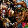 Robot vs Monster by cmhalek