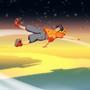 Space glider by Blisschild1