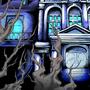 Rebident Ebil BG - Mansion Exterior by Xsplosive