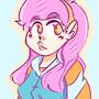 pink cuti girl by Reggus