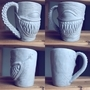 Lenny Mug by DETHSKULPT