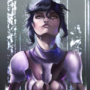 Ghost in the shell - fanart by wraith8r