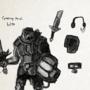 Cyborg Pewdiepie LvL99 by TheRealGustav