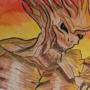 Baby Groot Dreaming Big by JATOSIN