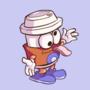 Coffee Mascot Idle Animation