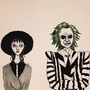 Beetle juice, beetle juice, beetle juice by Courtdoesart