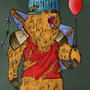 Winnie the Pooh if he was level 99 by Strikkess