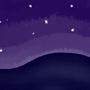 Night sky by Crazycow237