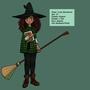 Introducing Luna Blackwood by ChibiAshley