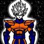 Goku Lvl 99 by VitorRafaelLealCarva