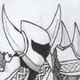 Shovel Knight at Max Lvl by Choto