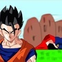 Gohan VS Superman by SuperBlue4Broly