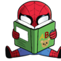Spider-Man reading by TheIYouMe