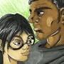 Jim and Dali by Bethsdrawings711994