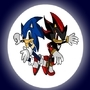 Sonic and Shadow by SuperBlue4Broly