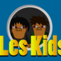 Les Kids (WallPaper) Blue by atomicenergy