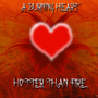 A burning heart by M0nk3yb34r
