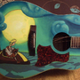 Monkey Island Guitar by Nogert