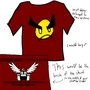 Egoraptor angry faic shirt by Zeppelin562