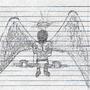 Engel und Ozean [Sketch] by shahdoekoebrah