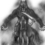 Vamp Vs Wolf by scriptfx
