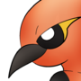 Fletchinder pokemorph by ZinZoa