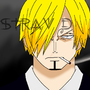 Black Leg SANJI by stravdrav