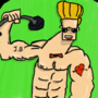 Johnny Douchbag by SLedgyMoth420