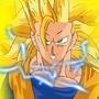 SSJ3 Goku by SuperBlue4Broly