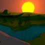 The sunset by IIIFoggySundayIII