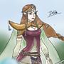 Level 99 zelda by Ehunter13013