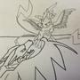 Level cap pikachu outline by aiko-raion
