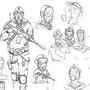 Sketch I by Lizertdesign