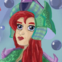 Ariel, Queen of Land and Sea by ArtfulBrittani