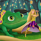 LVL 99 Rapunzel and Pascal