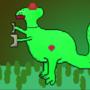 Robo Dino (with heart) by SuperHotChili