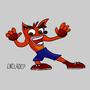 Crash Bandicoot by Eniladep