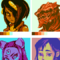 5 Colour Portraits