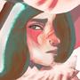 kitsunne girl by romanlo
