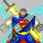 SUPER SUPERMAN by aditya11901