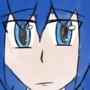 Male Blue Haired Digital Manga Watercolor Practice by SWOtakuSenpai